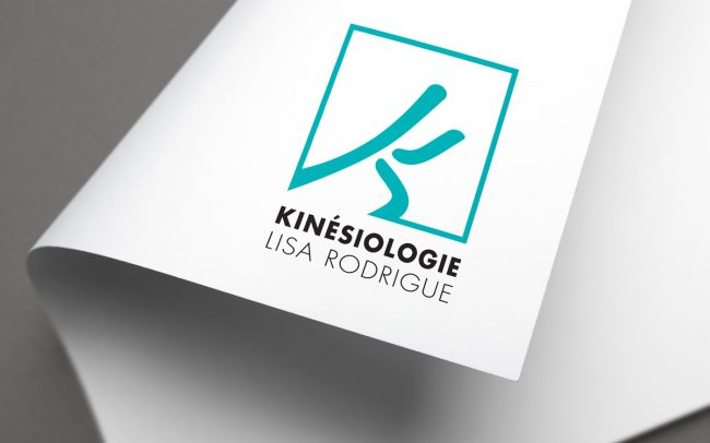 Agence DPI - Conception logo - Kinésiologie Lisa Rodrigue