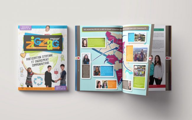 Agence DPI - Conception Magazine Zigzag